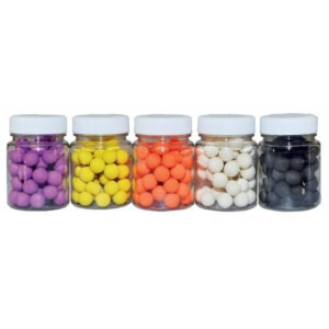 MIKBAITS Boilies fluo pop-up 60ml 10mm