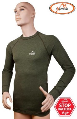 DELPHIN Termoprádlo EXTREMUS - Tričko dlhý rukáv f.zelená