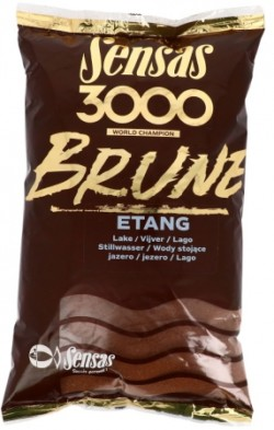 SENSAS Vnadiaca zmes 3000 Brune 1kg