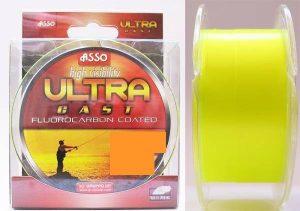 ASSO Vlasec  Ultra Cast 150/300m - fluo žltý