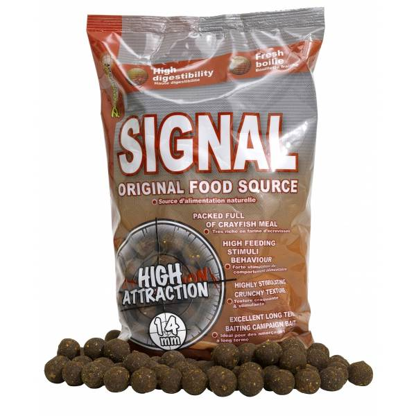 STARBAITS Boilies Concept Signal - 1kg