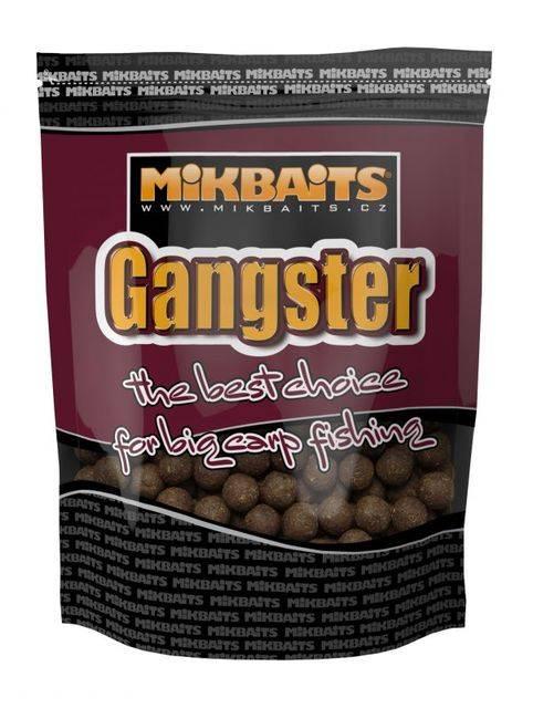 MIKBAITS Boilies Gangster G2 Krab Ančovička Asa - 1kg