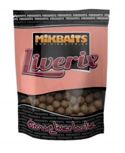 MIKBAITS Boilies Liverix Mazaná škeble - 20mm/1kg