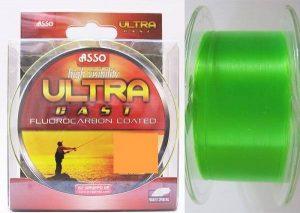 ASSO Vlasec Ultra Cast 150/300m - fluo zelený