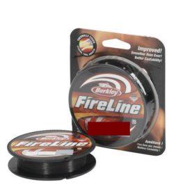 BERKLEY Šnúra Fireline Smoke- tmavá 110m