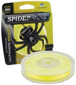 SPIDERWIRE Šnúra Ultracast 110m žltá