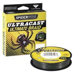 SPIDERWIRE Šnúra Ultracast 270m - zelená