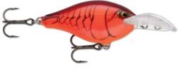 Scatter Rap Crank Deep 05- vobler, ktorý perfetne napodopňuje prchajúcu rybku bojujúcu o život. Vďaka veľkému hĺbkovému rozsahu a výraznej akcii Scatter Rap jebalsová nástraha s precíznou povrchovou úpravou veľmi efektívnou pri love. Opatrená háčikmi VMCBlack Nickel a typickou prehnutou lopatkou Scatter.
