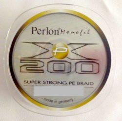 PERLON Šnúra XP 200 125m - farba sivá