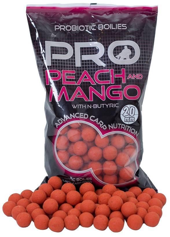 STARBAITS Bolilies PROBIO peach&mango 1kg