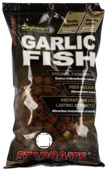 STARBAITS Boilies Concept Garlic Fish - 1kg