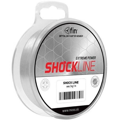 FIN SHOCK Line - šokový vlasec nadväzcový - 80m/bal.
