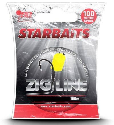 STARBAITS Vlasec ZIG LINE 100m
