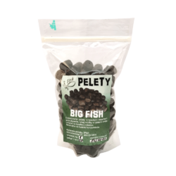 3Fish Pelety Big fish black halibut 1kg