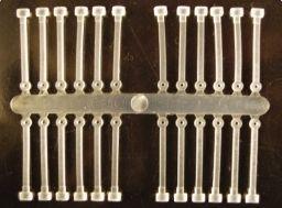 Extra Carp Silikónová zarážka-Silicone Boilie Holder - 24ks/bal.