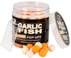 STARBAITS Pop Up Fluo Garlic Fish - 80g