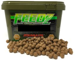 STARBAITS Feedz Boilies 4kg vedro - 14mm
