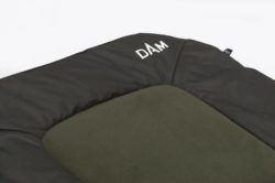 DAM Rybárska posteľ 6-nohová MICROFLEECE STEEL