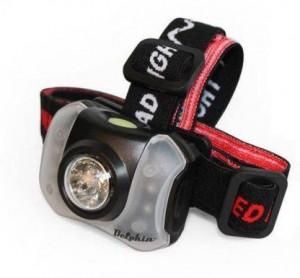 DELPHIN Čelová lampa POLAR X 5+4 LED