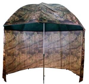 DELPHIN Dáždnik PVC s predĺženou bočnicou PVC 250cm kamufláž