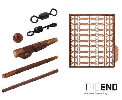 DELPHIN Set kaprárskych montáží THE END - 10 montáží/1bal.