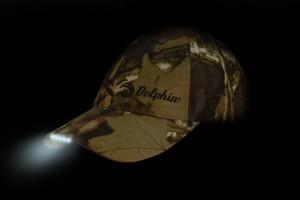 DELPHIN Šiltovka s LED osvetlením