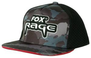 FOX RAGE Šiltovka Camo Flat Peak Trucker