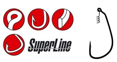 Háčik so špirálou - Super Line Spring Lock