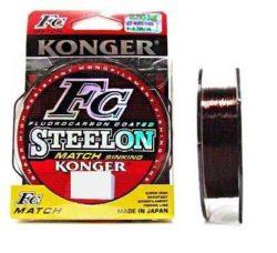 KONGER Vlasec Steelon Match 150m/0,20mm/5,75kg - hnedý