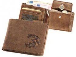 Kožená peňaženka ŠŤUKA - šírka/hnedá