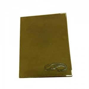 Kožené púzdro na doklady SUMEC - hnedé