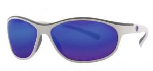LENZ Polarizačné okuliare Coosa Discover -White/Gun Blue Mirror