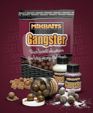 MIKBAITS Boilies Gangster G7 Master Krill 20mm - 1kg