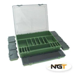 NGT Rybársky box - Tackle Box System 7+1