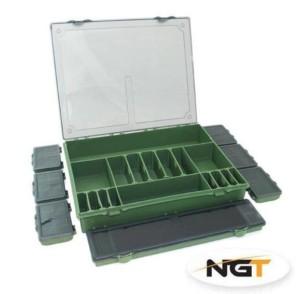 NGT Rybársky box - Tackle Box System 7+1