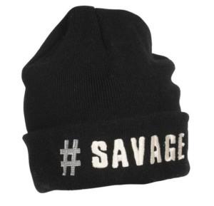 SAVAGE GEAR Čiapka s logom SIMPLY SAVAGE #SAVAGE BEANIE