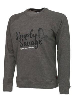 SAVAGE GEAR Mikina/Sveter - Simply Savage Sweater veľ. L