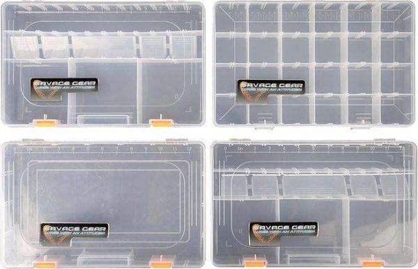 SAVAGE GEAR Taška so 4 krabičkami - System Box Bag L
