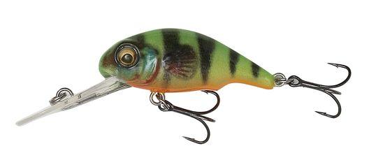 Vobler vyrobený na základe 3D skenovania malého sladkovodného býčka (goby)! Táto malá nástraha sa pohybuje veľmi lákavo. Má v sebe zabudovanú hrkálku - vydáva provokačný zvuk. Nástraha je vhodná pre lov mnoho dravých rýb najmä pstruhy