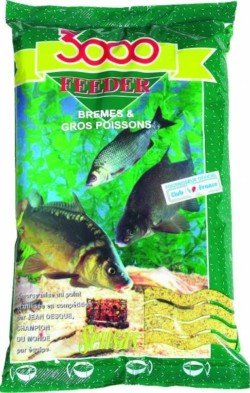 SENSAS Vnadiaca zmes 3000 FEEDER bream big fish 1kg