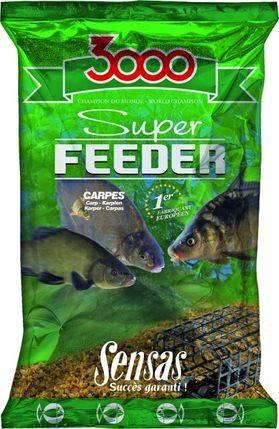 SENSAS Vnadiaca zmes 3000 SUPER FEEDER - Kapor 1kg