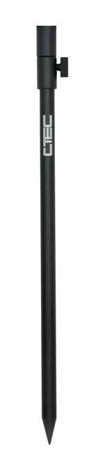 SPRO C-TEC Podpierka Matt Black Bankstick 30-50cm