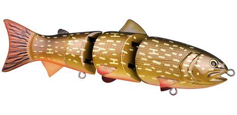 Spro Bill Siemantel Siganture Swimbait BBZ 6 má kompatkný tvar a je ultrarealistický. Vobler je rýchlo potápavý s dvomi pevnými a ostrými trojháčikmi.
