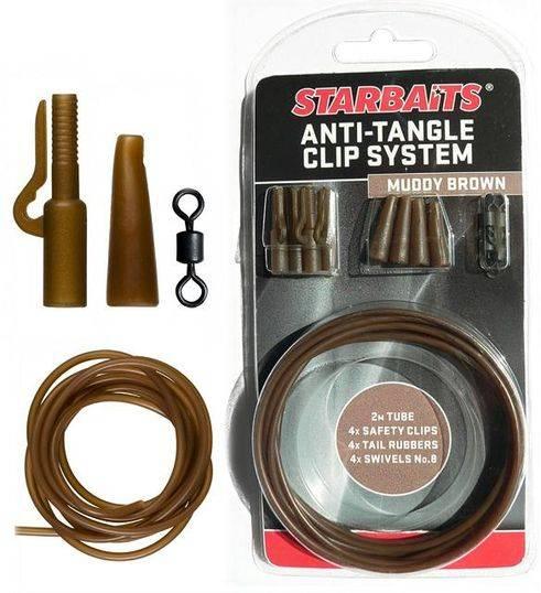 STARBAITS Anti Tangle Clip System (montáž) - zelená