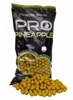 STARBAITS Boilies Probiotic Pineapple 10mm/1kg