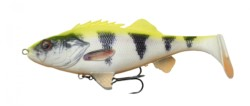 SAVAGE GEAR Gumená nástraha 4D Perch Shad 17,5cm/67g Lemon Perch