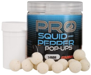 STARBAITS Boilies pop up Pro Squid & Pepper 14mm/60g