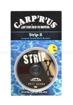 CARP ´R´ US Poťahovaná šnúrka Strip-X
