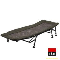 MAD Rybárska posteľ BSX CAMO FLATBED 6 LEG