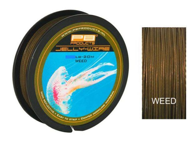 PB PRODUCTS Nadväzcová šnúrka Jelly-Wire Weed 20m